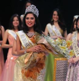 Biodata dan Foto Maria Asteria Miss Indonesia 2014