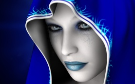 Art-Blue-Girl