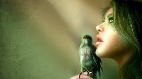 Bird-Girl-Wallpaper